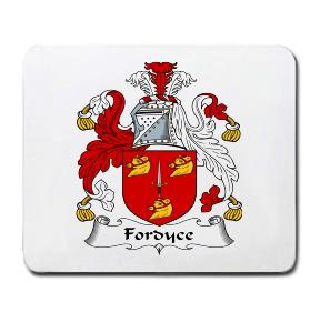 Fordyce Coat of Arms Mouse Pad