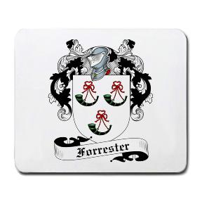 Forrester Coat of Arms Mouse Pad