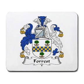 Forrest Coat of Arms Mouse Pad