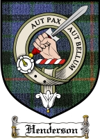 Henderson Clan Macdonald Clan Badge / Tartan FREE preview