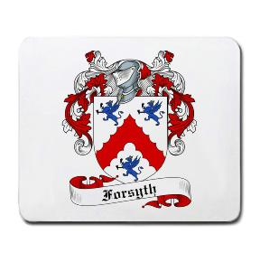 Forsyth Coat of Arms Mouse Pad