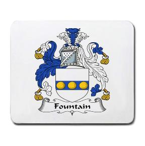 Fountain Coat of Arms Mouse Pad