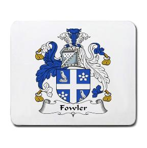 Fowler Coat of Arms Mouse Pad