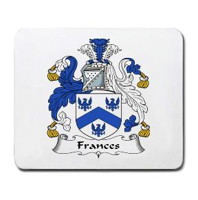Frances Coat of Arms Mouse Pad