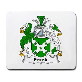 Frank Coat of Arms Mouse Pad