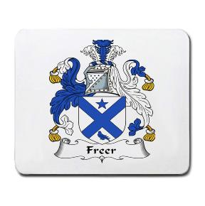 Freer Coat of Arms Mouse Pad