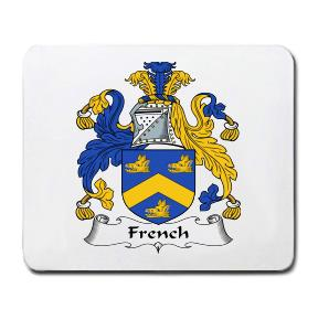 French Coat of Arms Mouse Pad