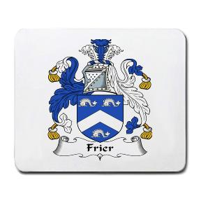 Frier Coat of Arms Mouse Pad