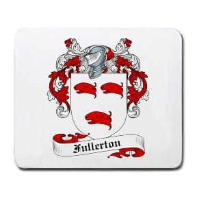 Fullerton Coat of Arms Mouse Pad