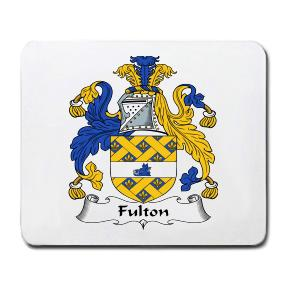 Fulton Coat of Arms Mouse Pad