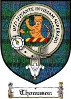 Thomason Clan Badge / Tartan FREE preview