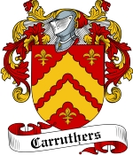 Carruthers Family Crest / Carruthers Coat of Arms JPG Download