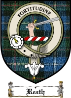 Reath Clan Badge / Tartan FREE preview