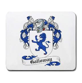 Galloway Coat of Arms Mouse Pad