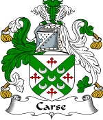 Carse Family Crest / Carse Coat of Arms JPG Download