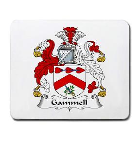 Gammell Coat of Arms Mouse Pad