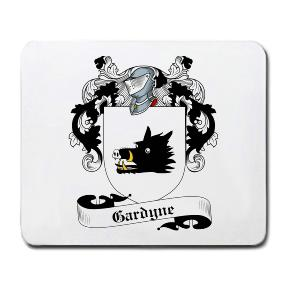 Gardyne Coat of Arms Mouse Pad