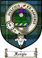 Fergie Clan Badge / Tartan FREE preview