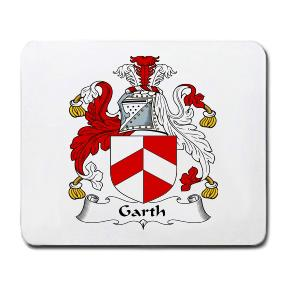 Garth Coat of Arms Mouse Pad