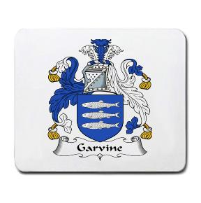 Garvine Coat of Arms Mouse Pad