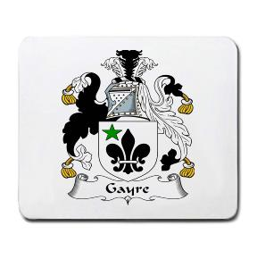 Gayre Coat of Arms Mouse Pad