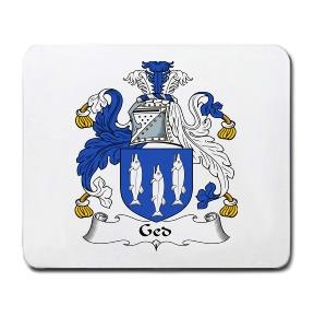 Ged Coat of Arms Mouse Pad