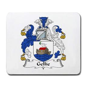 Gellie Coat of Arms Mouse Pad