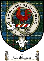 Cockburn Clan Badge / Tartan FREE preview