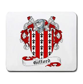 Gifford Coat of Arms Mouse Pad