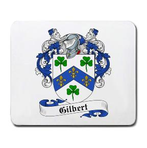 Gilbert Coat of Arms Mouse Pad