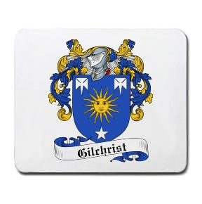Gilchrist Coat of Arms Mouse Pad