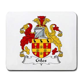 Giles Coat of Arms Mouse Pad