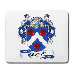Gillespie Coat of Arms Mouse Pad
