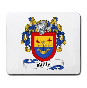 Gillis Coat of Arms Mouse Pad