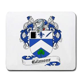 Gilmour Coat of Arms Mouse Pad