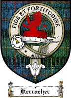 Kerracher Clan Badge / Tartan FREE preview