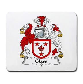 Glass Coat of Arms Mouse Pad