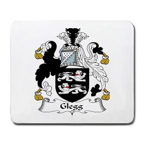 Glegg Coat of Arms Mouse Pad