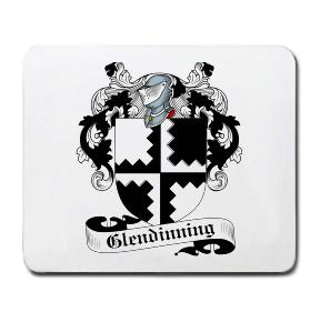 Glendinning Coat of Arms Mouse Pad