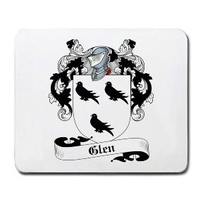 Glen Coat of Arms Mouse Pad