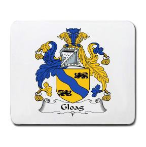 Gloag Coat of Arms Mouse Pad