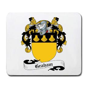 Graham Coat of Arms Mouse Pad