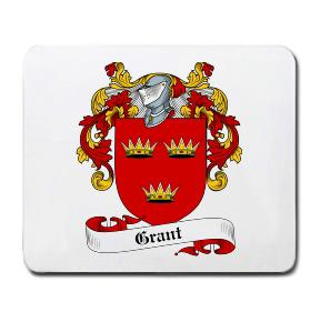 Grant Coat of Arms Mouse Pad
