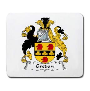 Gredon Coat of Arms Mouse Pad