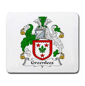 Greenlees Coat of Arms Mouse Pad
