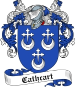 Cathcart Family Crest / Cathcart Coat of Arms JPG Download