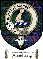 Armstrong Clan Badge / Tartan FREE preview