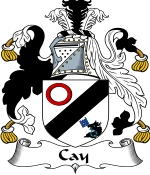 Cay Family Crest / Cay Coat of Arms JPG Download