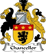 Chancellor Family Crest / Chancellor Coat of Arms JPG Download
