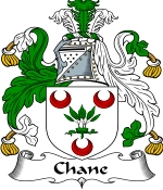 Chane Family Crest / Chane Coat of Arms JPG Download